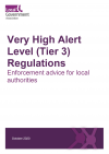 Very high alert level tier 3 front cover